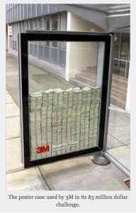 Guerrilla Event Promotion by 3M