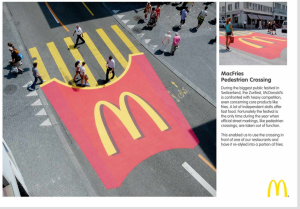 Guerrilla Event Promotion by McDonalds
