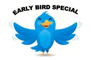 Increasing the Lifespan of an Event - early bird