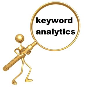 Using SEO for Event Promotion - keyword analytics